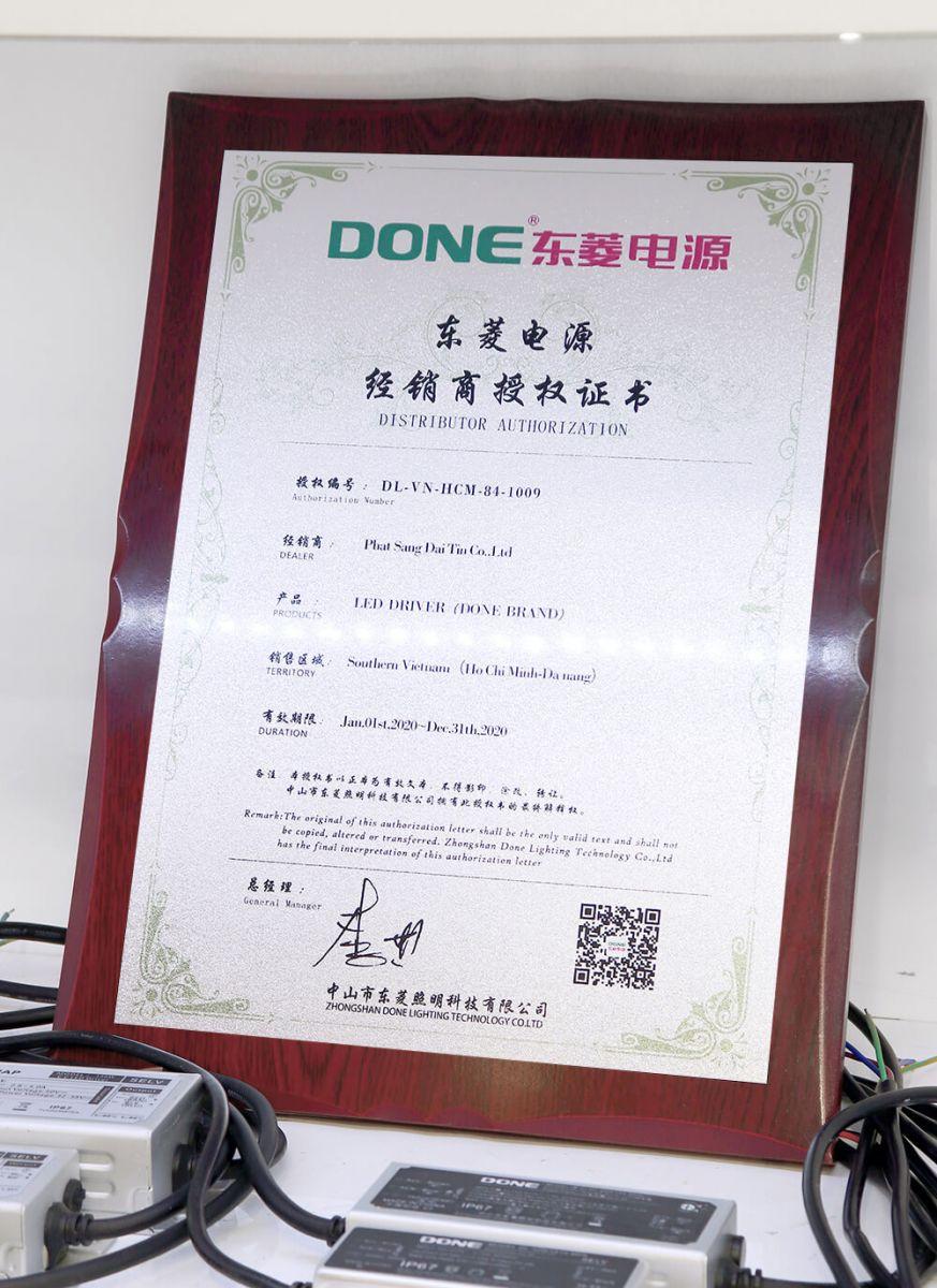 Nhà phân phối nguồn LED Done tại Việt Nam